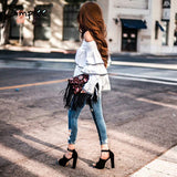 Casual long sleeve blouse