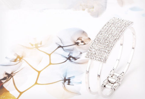 Elegant Flash All Over The Sky Star Crystal Bracelets
