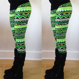 Warm Knitted Cotton Blend Leggings