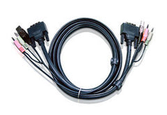 3M USB DVI-I Single Link KVM Cable - 2L-7D03UI