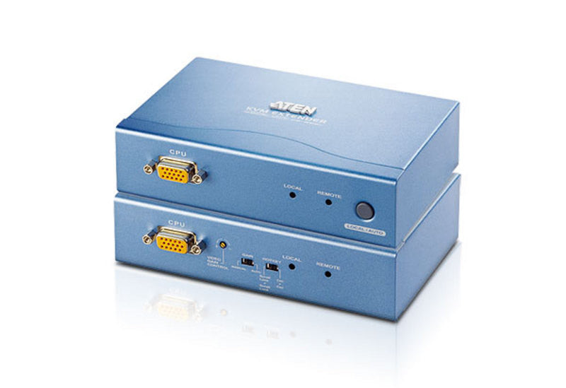 PS/2 VGA Cat 5 KVM Extender with Extra Remote PC (1024 x 768@300m) - CE252 (EX-VAT)