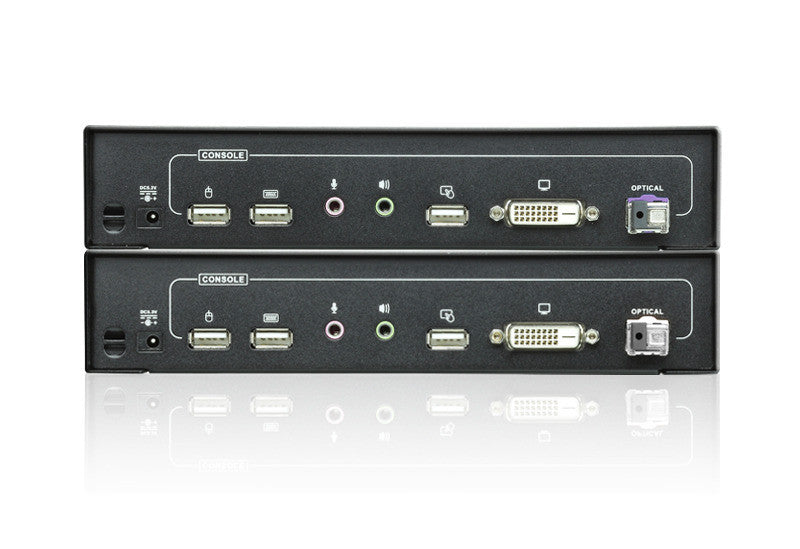 Long Distance DVI Optical KVM Extender - CE690