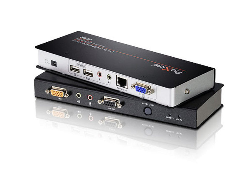 USB VGA/Audio Cat 5 KVM Extender with Deskew (1280 x 1024@300m) - CE770 (EX-VAT)