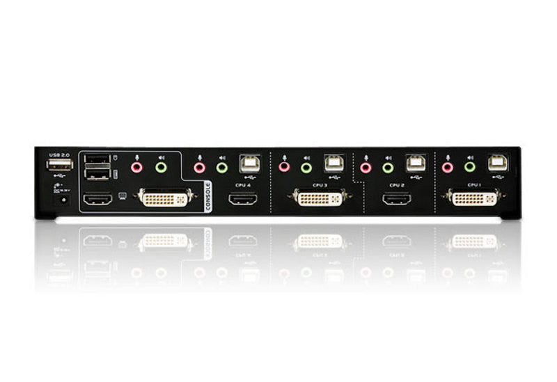 2x4 DVI-HD Audio/Video Matrix KVMP™ Switch - CM0264 (EX-VAT)