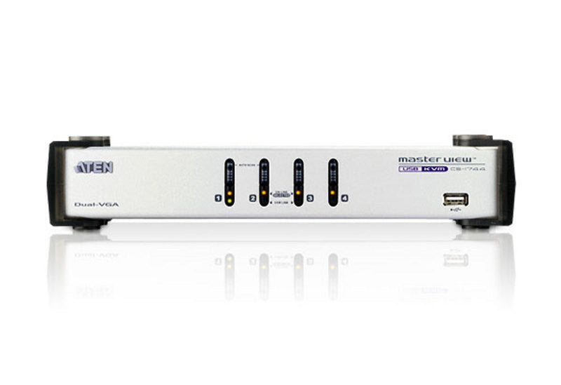 4-Port USB Dual-View KVMP™ Switch - CS1744 (EX-VAT)