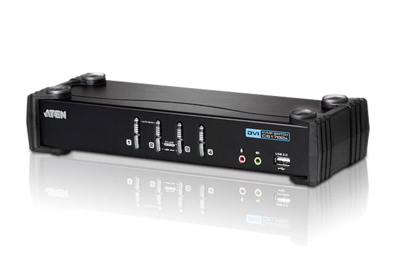 USB 2.0 DVI KVMP™ Switch - CS1764A (EX-VAT)