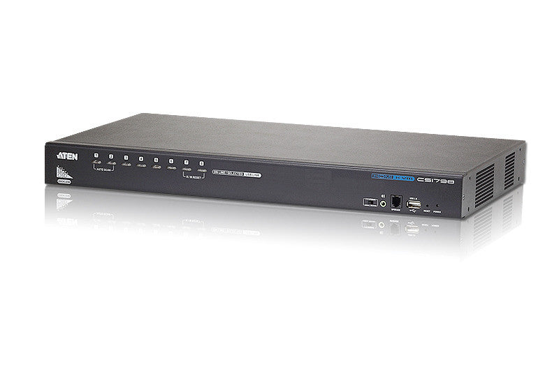 8-Port USB HDMI KVM Switch - CS1798 (EX-VAT)