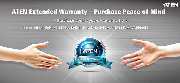 2 Years Extended Warranty - ZX01-400 (EX VAT)