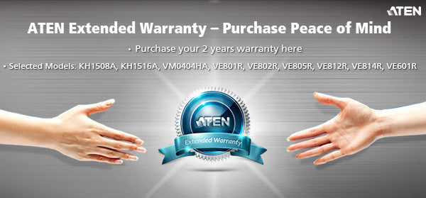 2 Years Extended Warranty - ZX01-45 (EX VAT)