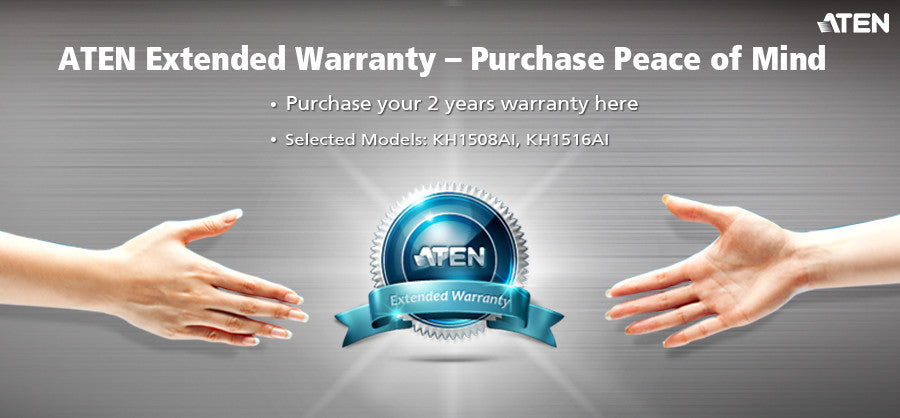 2 Years Extended Warranty - ZX01-90 (EX VAT)