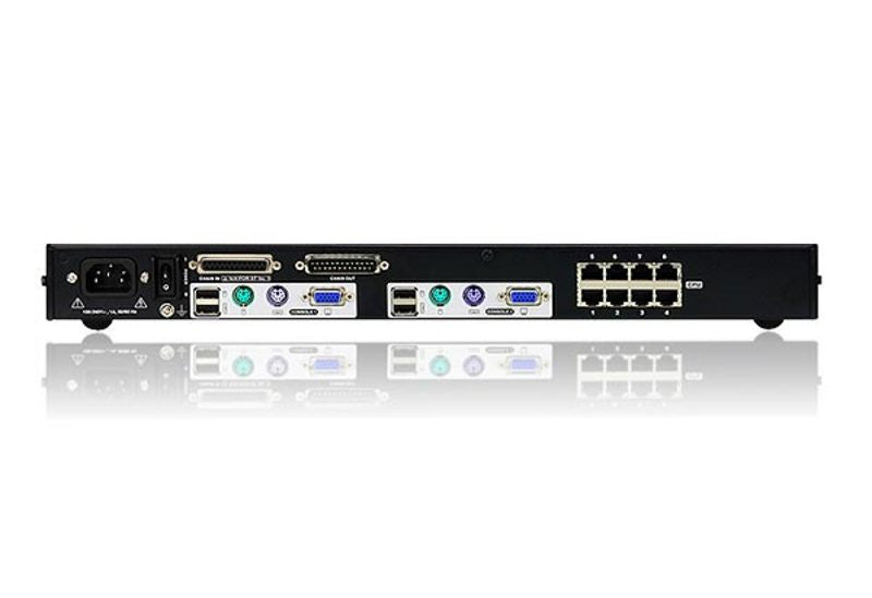 2-console 8-port Cat 5 High-Density KVM Switch - KH2508A (EX-VAT)