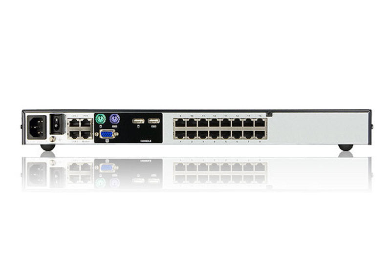 1-Local/4-Remote Access 16-Port Cat 5 KVM over IP Switch - KN4116