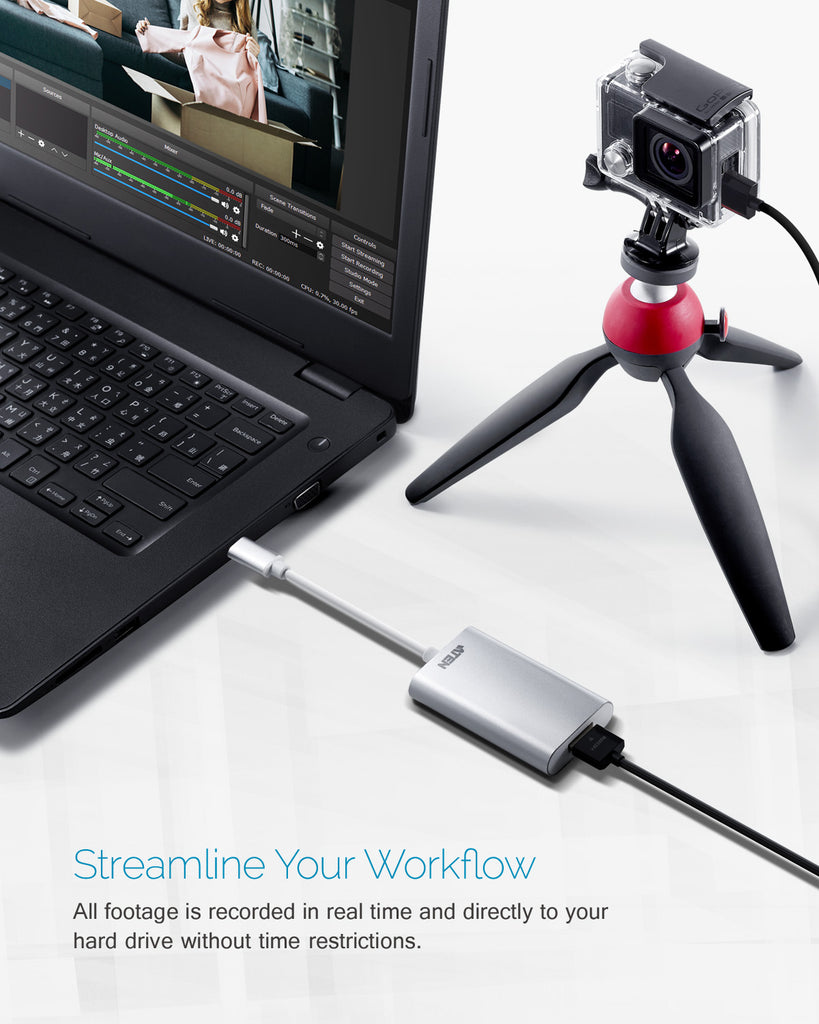 CAMLIVE™ (HDMI to USB-C UVC Video Capture) - UC3020 (EX. VAT)