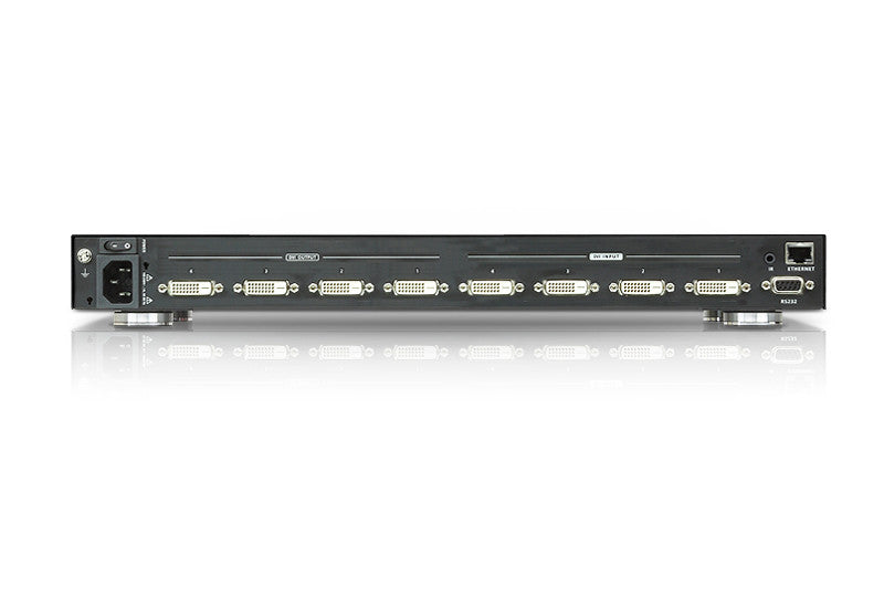 4 x 4 DVI Matrix Switch with Scaler - VM5404D