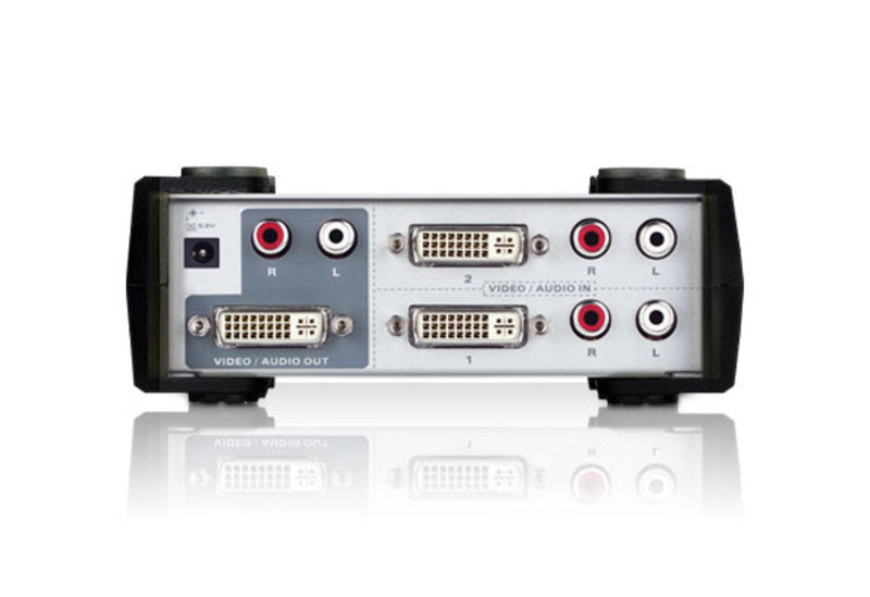 2-Port DVI/Audio Switch - VS261 (EX-VAT)
