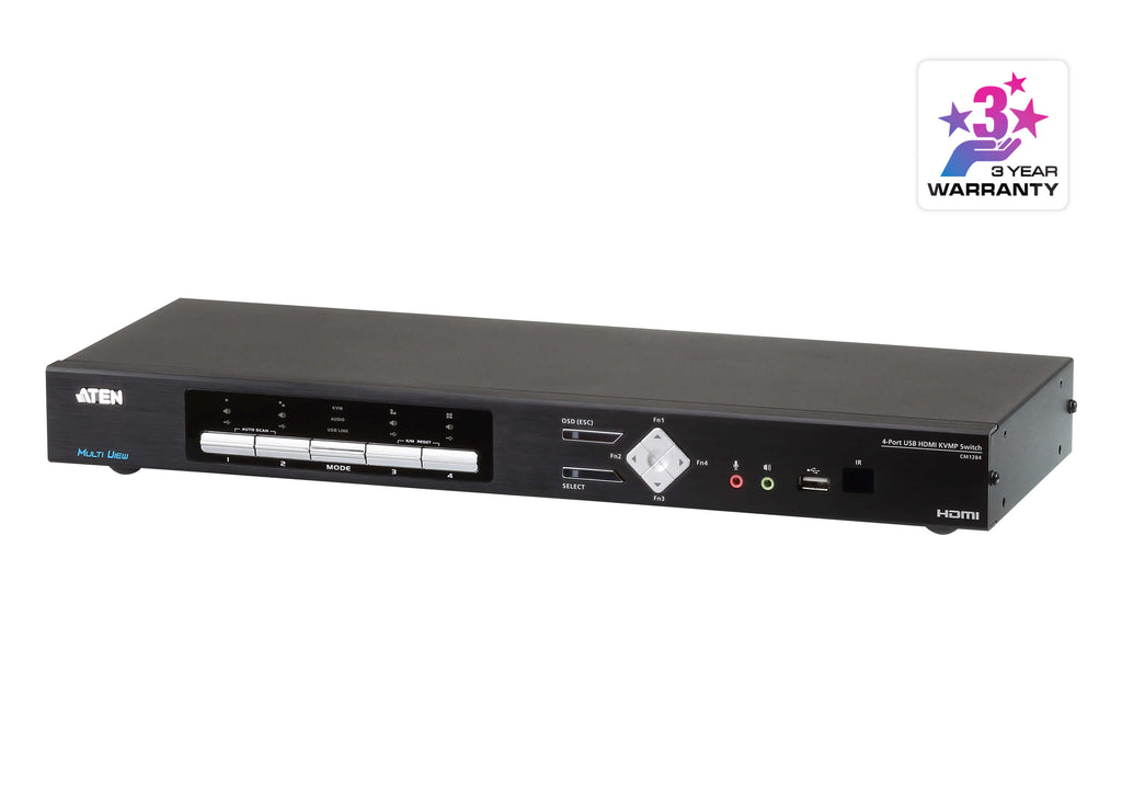 4-Port USB HDMI Multi-View KVMP™ Switch - CM1284