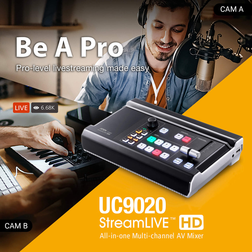 StreamLIVE HD Multi-Channel AV Mixer - UC9020