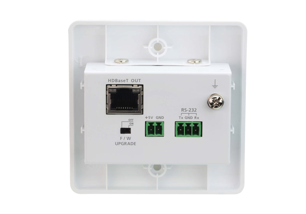 HDMI HDBaseT-Lite Transmitter with EU Wall Plate (4K@40m) - VE1801EUT