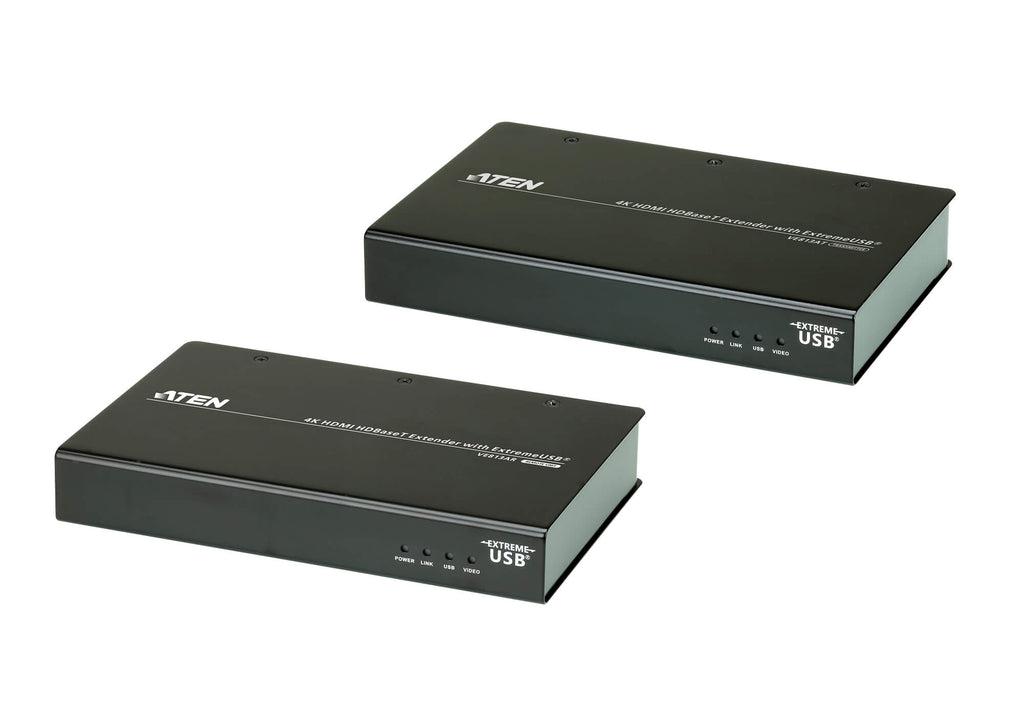 4K HDMI HDBaseT Extender with ExtremeUSB® (4K@100m) (HDBaseT Class A) - VE813A