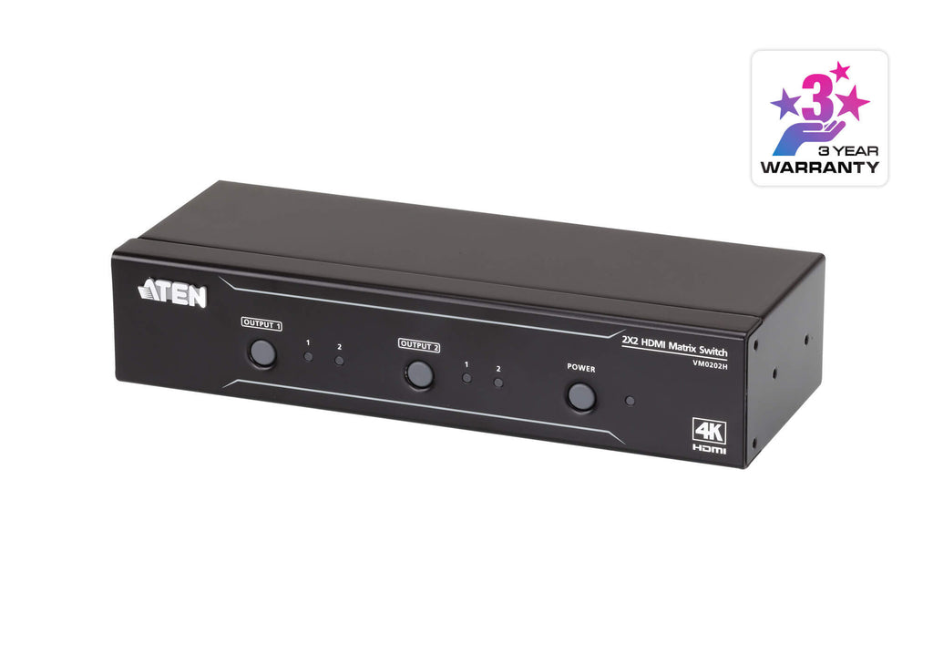 2x2 4K HDMI Matrix Switch - VM0202H