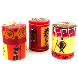 Hand-Painted Candles - Damisi Design