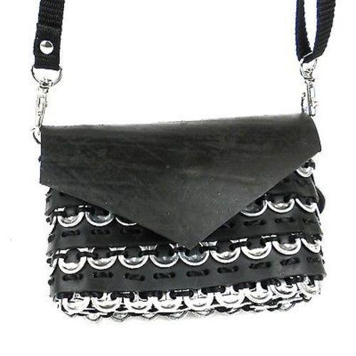 Soda Pull Cell Bag With Tire Handmade and Fair Trade