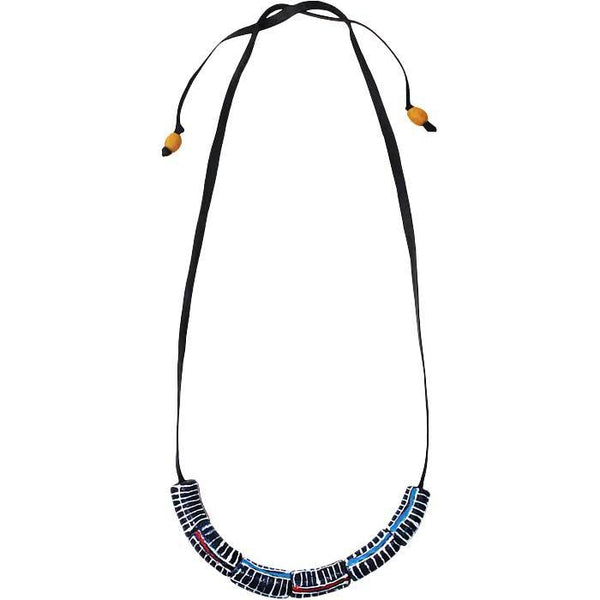 Okapi Necklace Black - Global Mamas