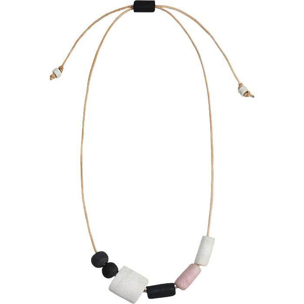 Kalahari Necklace Neutral - Global Mamas (Jewelry)