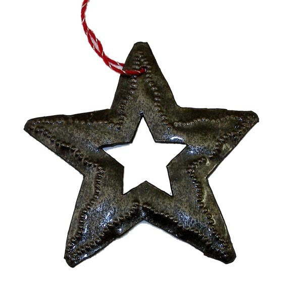 Hand Crafted Steel Holiday Ornaments - Green Sea Eco  - 9