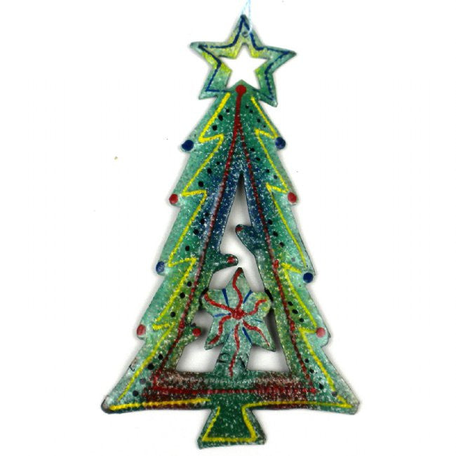 Hand Crafted Steel Holiday Ornaments - Green Sea Eco  - 14