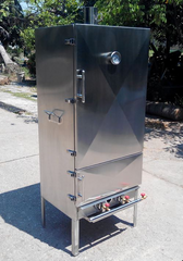 Smoker 14 Rack 2 Door Insulated