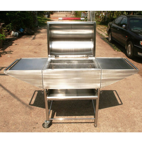 BBQ: SS Master Deluxe Charcoal