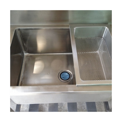 SK3 Sink w/ Removable Top Drainer