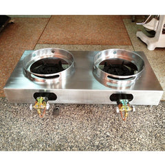 Stove HP 2 Burner Wok Counter