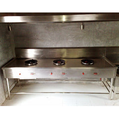 Stove HP 3 Burner Commercial
