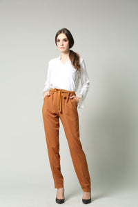Ferina Pants (Dark Mustard)