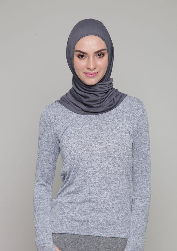 Active Scarf in Grey