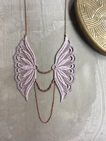 novalie long boho necklace
