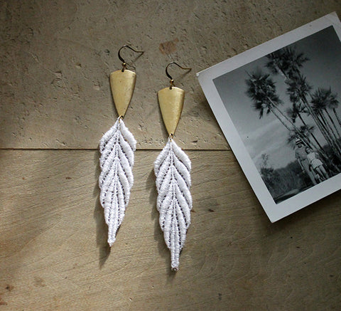 artemis lace earrings