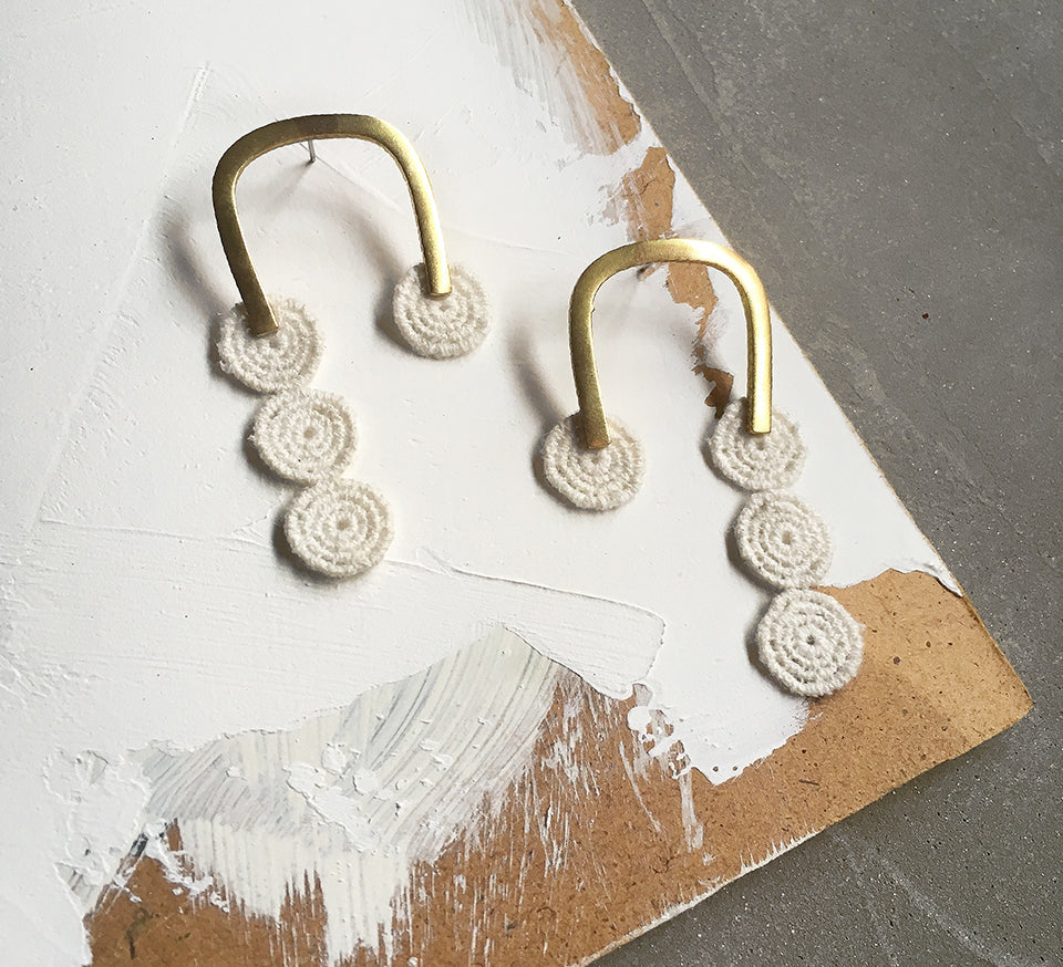 gamela geometric earrings