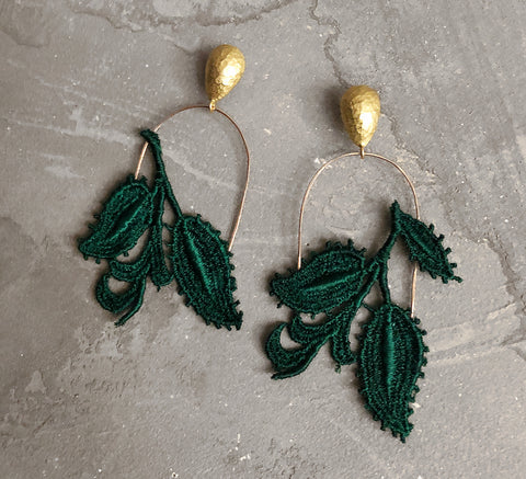tallulah asymmetrical earrings