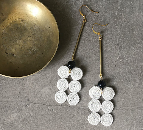 gaiane geometric earrings