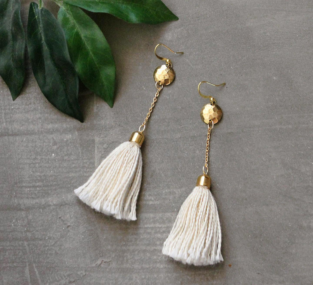 nico boho tassel earrings
