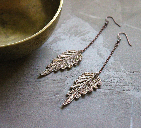 persis lace earrings