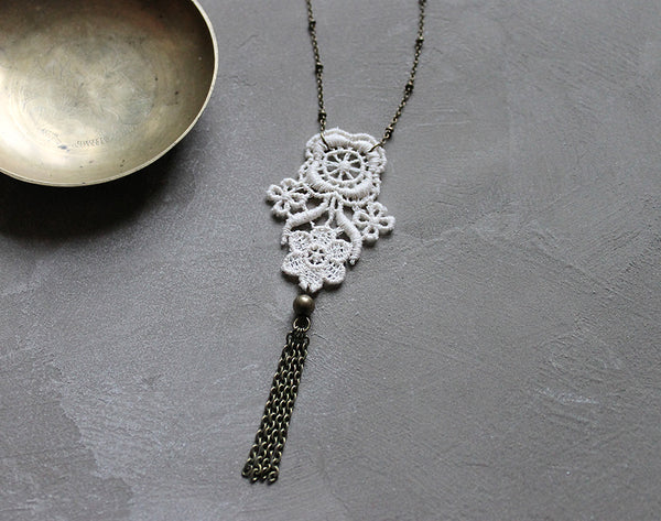 anthropologie style necklace