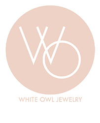 white owl jewelry