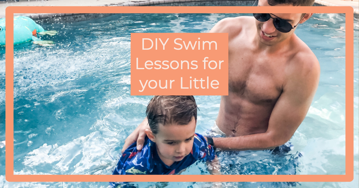 DIY Swim Lessons for your Baby or Toddler!