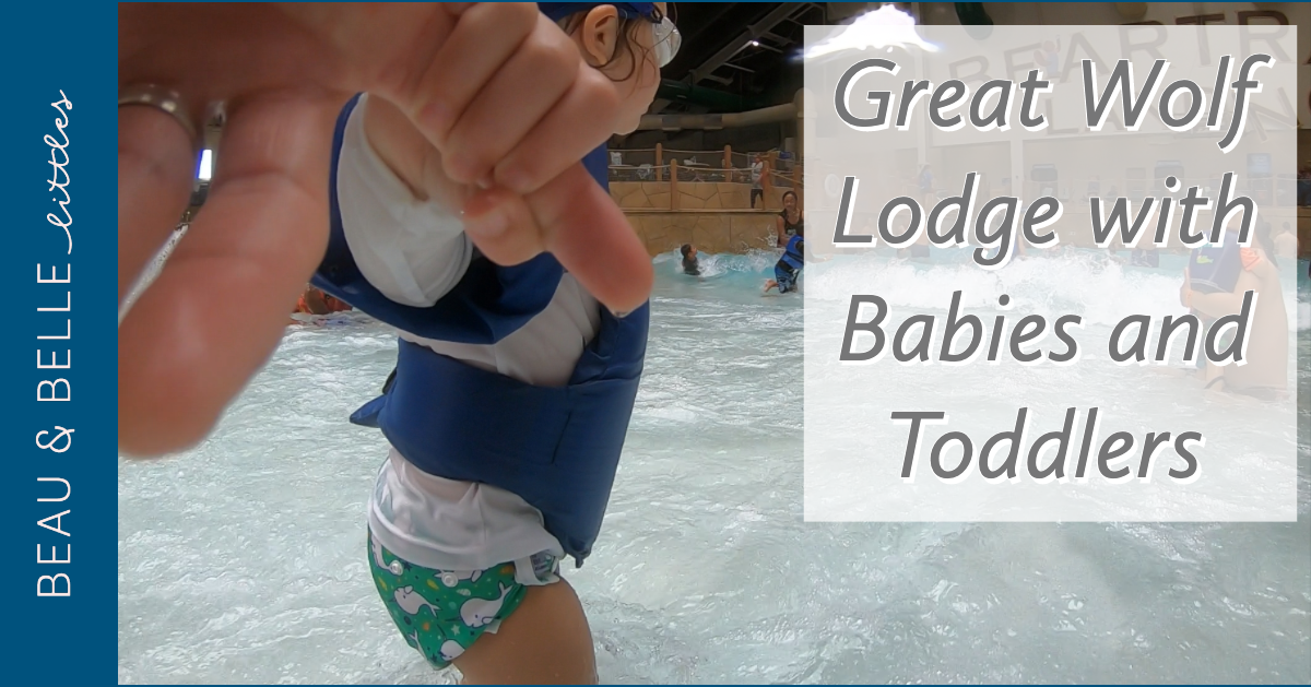 Great Wolf Lodge with Babies and Toddlers