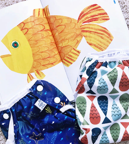 Gold Fish Sea Friends Swim Diaper Fish Swim Diaper