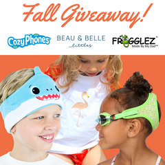 Frogglez, Cozy phone, and BBLittles joint Fall giveaway images